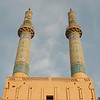 The minarets of Masjid-e Jame (Friday Mosque)