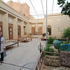 In the Silk Road Hotel courtyard, ultimate relaxation