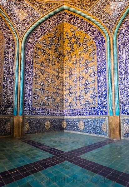 Corner of the Mosque, Iran