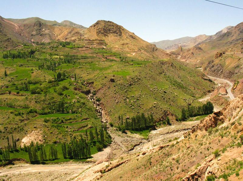 Northwest Itran - headed towards the Turk border.