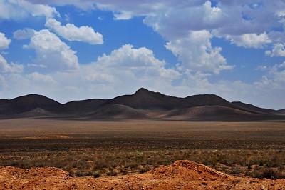 Zagros Mountains in Center of Iran.