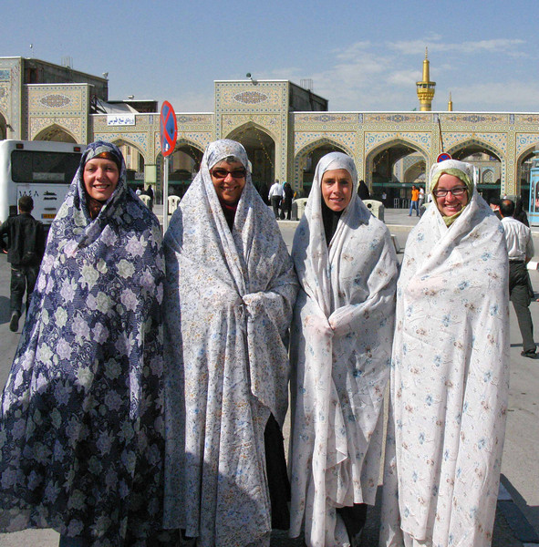 The bedsheet bandits in Mashad.