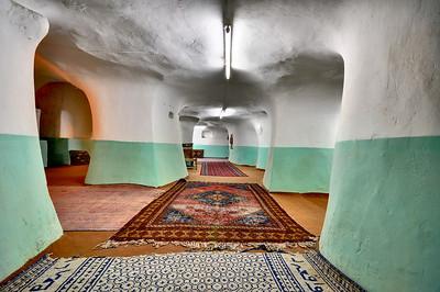 Historic Jameh Mosque of Zefreh, Isfahan, Iran.