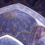 Interior of the Shah Mosque, Isfahan, Iran, 2016