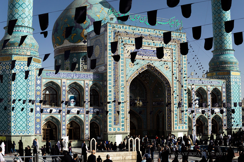 Imamzadeh Saleh on Ashura, Tehran, 2016