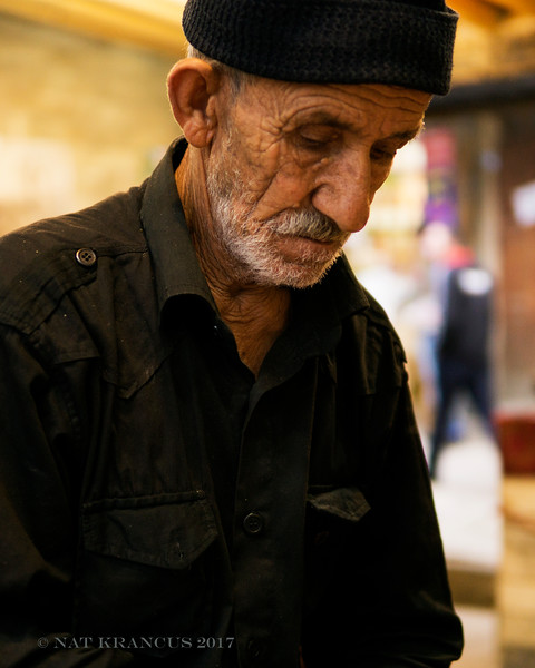 Man Serving Tea in Masouleh