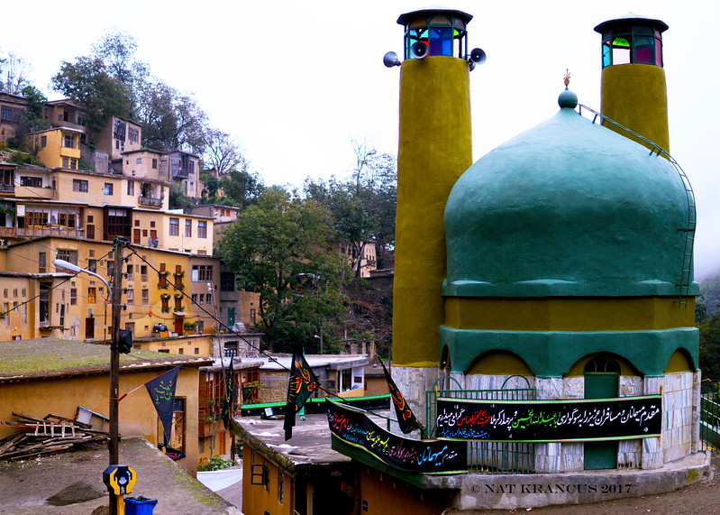 The Mosque in Masuleh, Gilan Province, iran