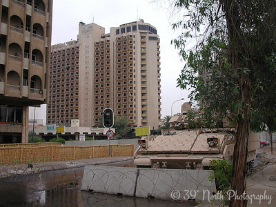 The Palestine Hotel, where I lived and worked in Baghdad for 7 months