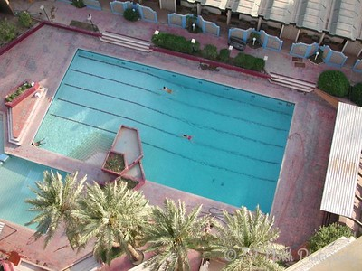 The Palestine Hotel pool