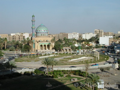 FIrdos Square was the location of the statue of Saddam that was toppled in the early days of the occupation in a much-publicized media event.