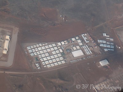 Our camp from the air