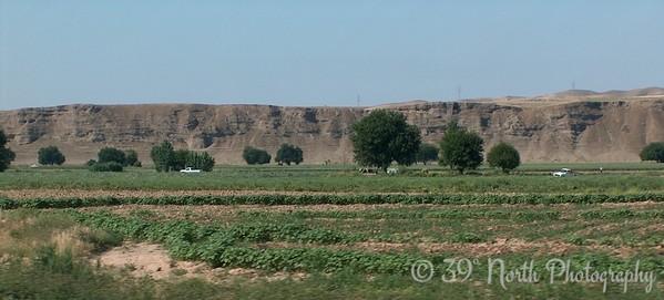 """Fields near Altun Kupri 35° 45' 26"""" North, 44° 8' 10"""" East"""