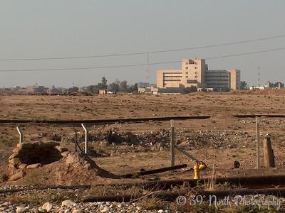 I'm told that that's the Kirkuk Hospital.