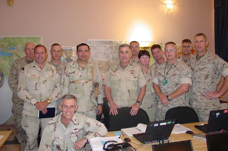 Gen Sanchez, Gen Abizaid, OPCC 2003