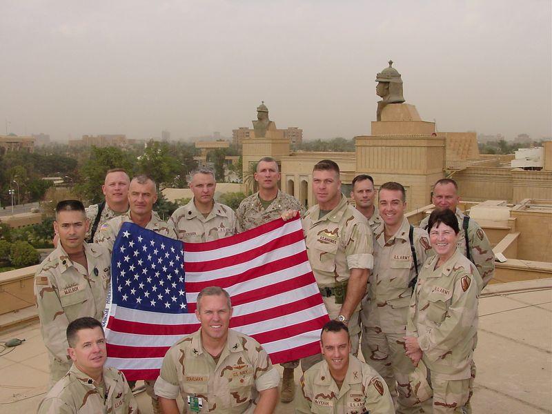 OPCC Presidential Palace Baghdad Iraq 11-11-2003