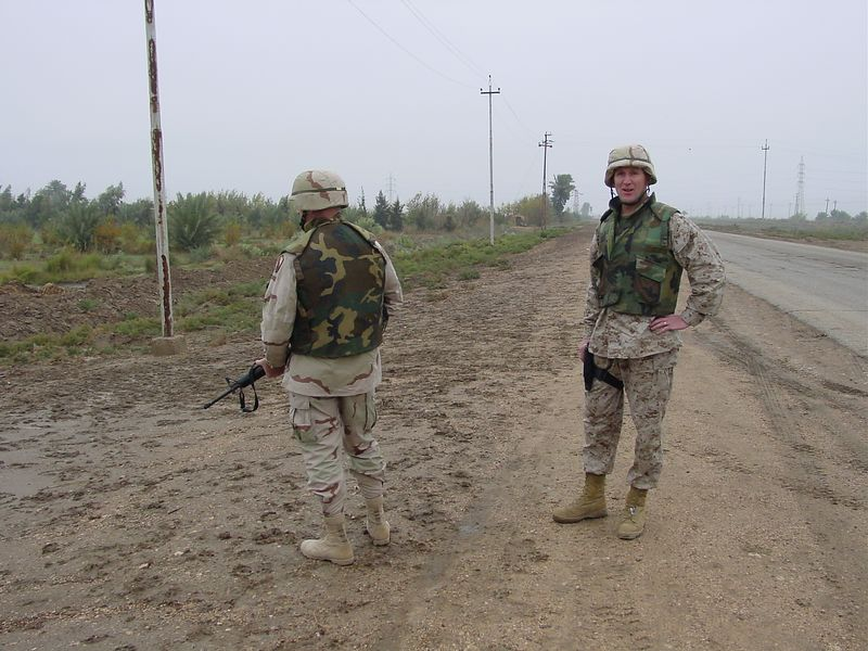 IED Found along road side