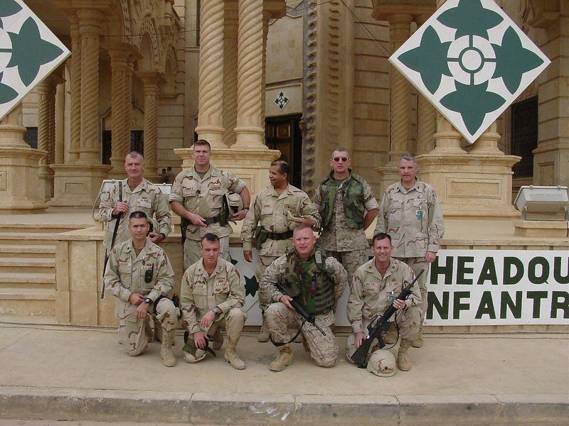 Tikrit  4th ID HQ  12-2003
