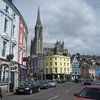Colorful Cobh and Cathedral