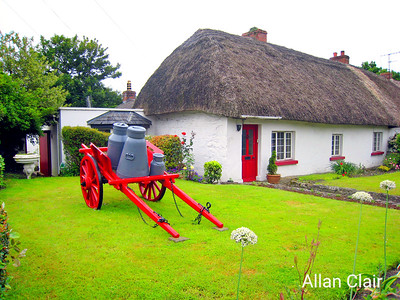 Village of Adare, County Limerick, Ireland