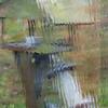 Bird Feeder in Rainstorm II