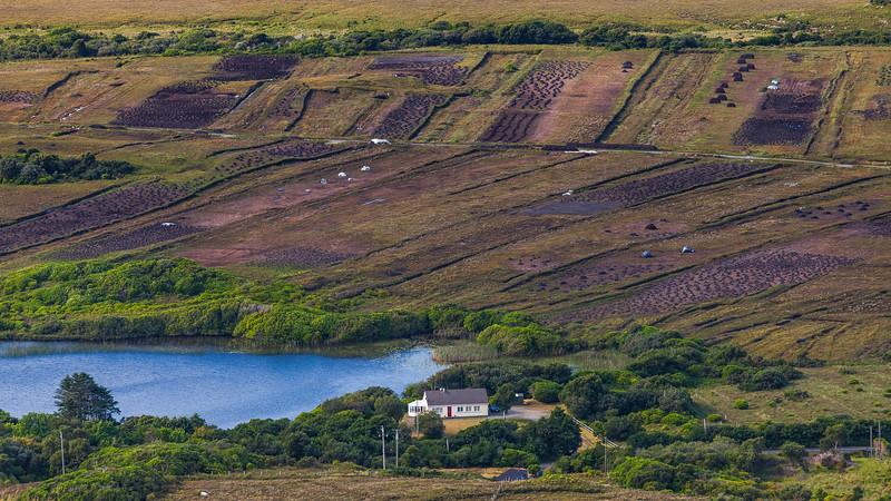Peat Harvesting, Connemara, Ireland