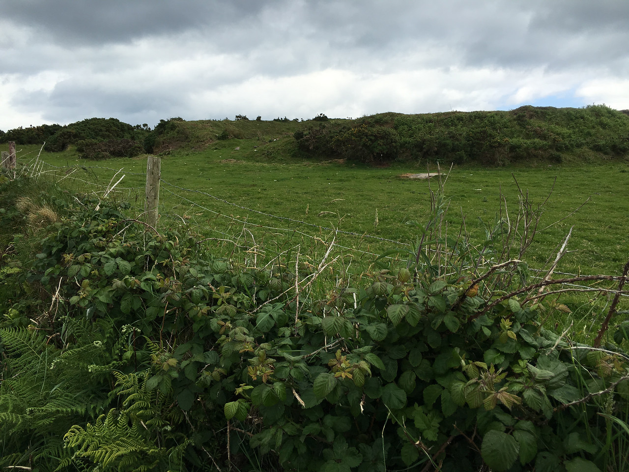 """Dingle peninsula: Ancient """"circle fort"""", which were like ranch houses."""