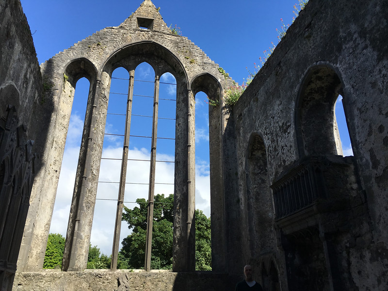 Ancient monastary in Ennis