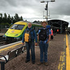Took trains from Limerick to Tralee to Dublin to Galway to Ennis. Bus to Dingle and Clifdon.