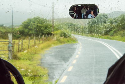 A rainy start on the way to Achill Island