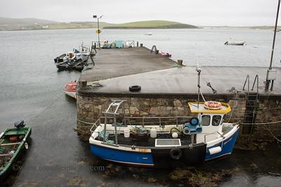 Kildavnet Pier, Achill Island, Co Mayo