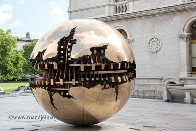 """""""Sphere within Sphere"""", Trinity College, Dublin"""