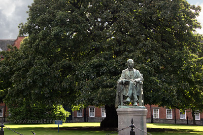 William Edward Hartpole Lecky Statue, Trinity College, Dublin, Co Dublin