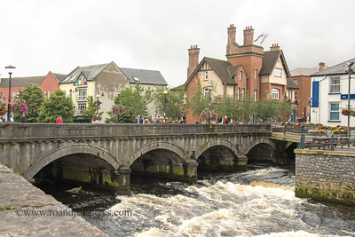 Douglas Hyde Bridge  over River Garavogue, Sligo, Co Sligo