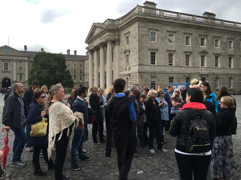 tour of Trinity College