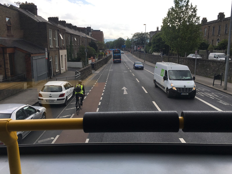 streetview from upstairs bus