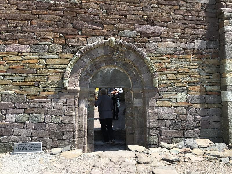 ancient church door ...