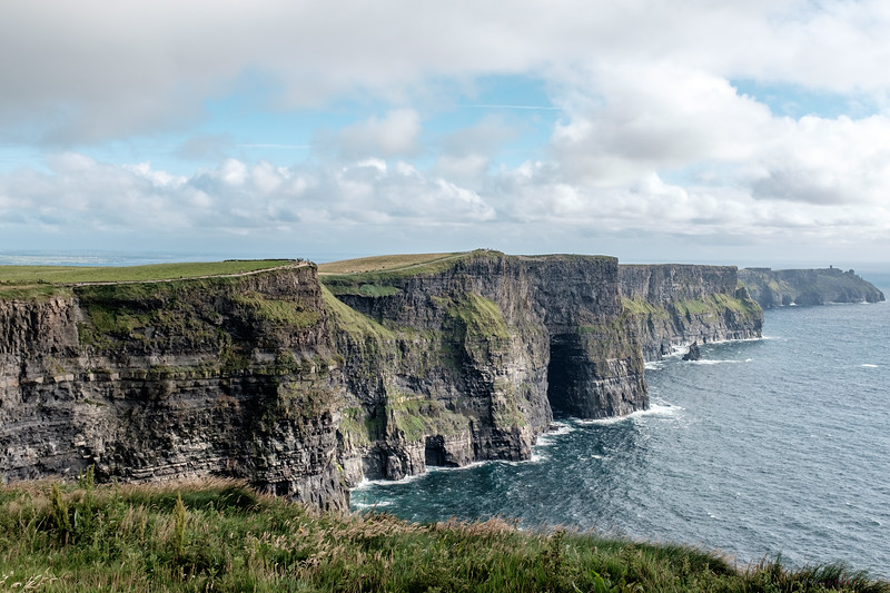 The Famous Cliff's of Moher were absolutely breathtaking.