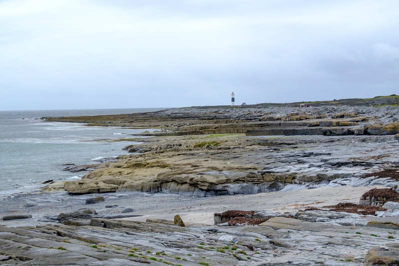 Lighthouse in the distance on Inisheer