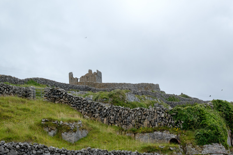 Ruins of O'brien Fort  on Inisheer