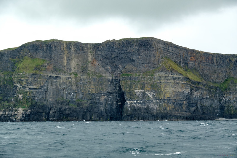 The Sea Cave at the Cliffs of Moher.  We learned that it was used in one of the Harry Potter films