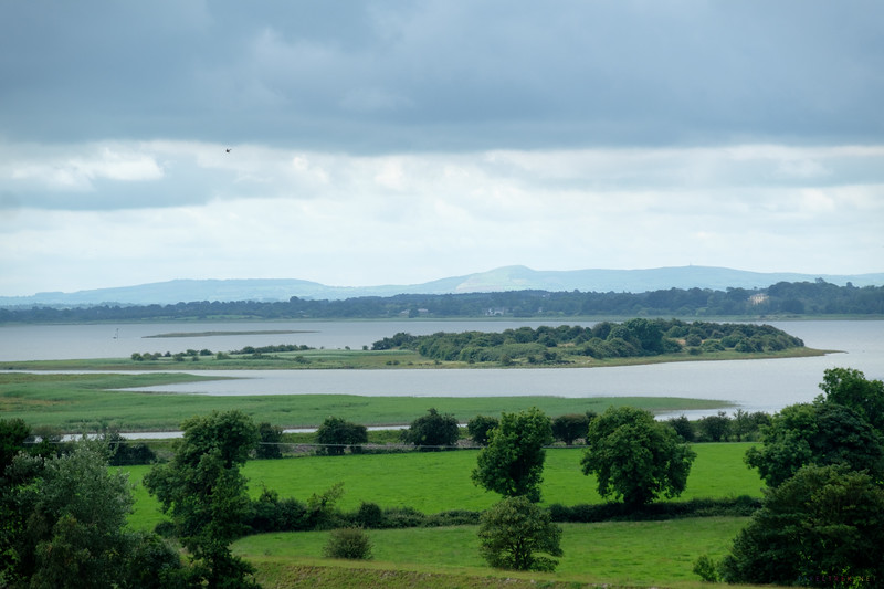 View from the Tower at Bunratty Castle.