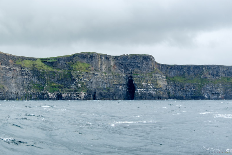 The Sea Cave, viewed heading away from the Cliffs of Moher