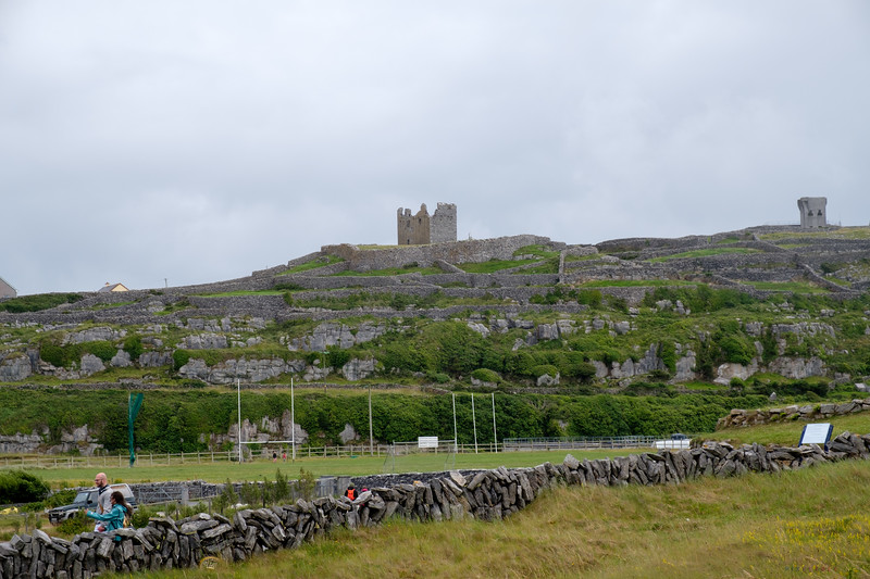 Another view of Fort O'Brien, the walls, and hurling fields