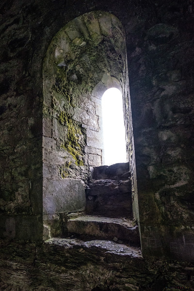 Inside the ruins of Cong Abbey