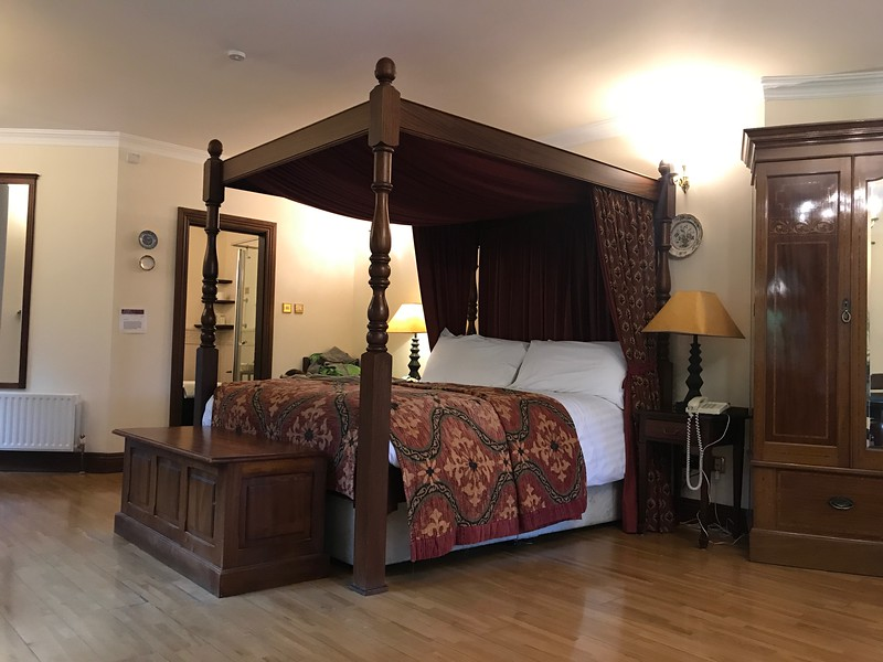 The four poster was very comfortable