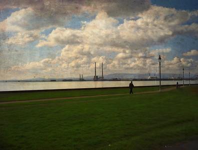 Dubin Bay Man Walking Home
