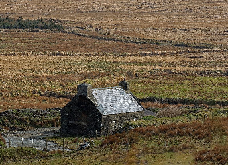 Abandoned Farmhouse outside of Portmagee