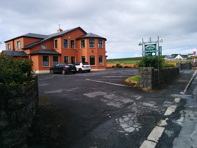 Where I stayed in Doolin - Churchfield's B&B