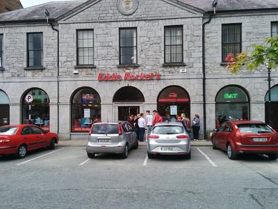 Ireland's Johnie Rocket's