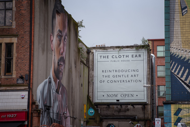 The Cloth Ear, Belfast
